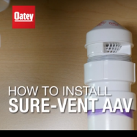 How to Install an Oatey Sure-Vent AAV