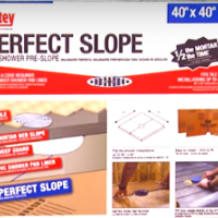 Oatey Perfect Slope Installation